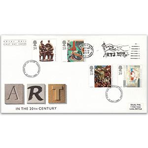 1993 Contemporary Art - Barnes Cray School Arts Week slogan