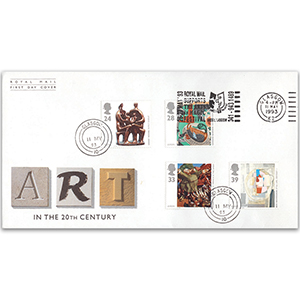 1993 Contemporary Art - Glasgow Royal Mail Supports The Arts