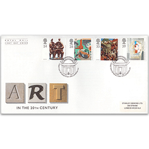 1993 Europa: Art in the 20th Century - Royal Mail First Day Cover