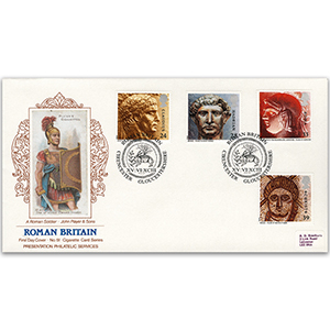 1993 Roman Britain Cigarette Card series