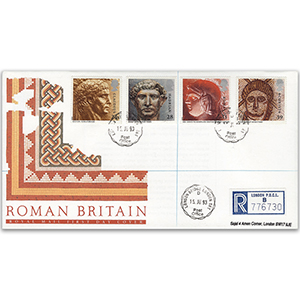 1993 Roman Britain - Royal Mail FDC - London Bridge CDS