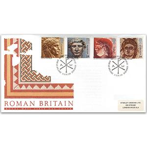 1993 Roman Britain - Royal Mail FDC - Edinburgh