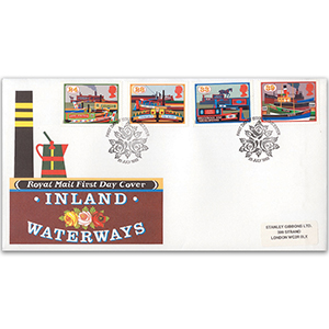 1993 Inland Waterways - Royal Mail First Day Cover