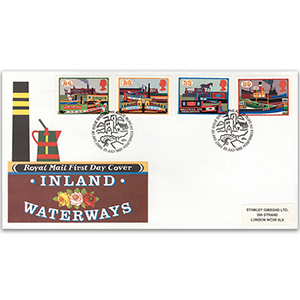 1993 Inland Waterways Royal Mail Cover - Bureau, Edinburgh