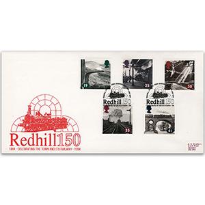 1994 Age of Steam - Redhill 150th Anniversary FDC