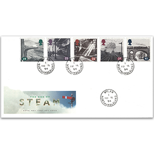1994 Age of Steam - Royal Mail First Day Cover - Wylam, Northumberland CDS