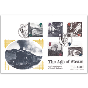 1994 Age of Steam - Derby - Mercury FDC