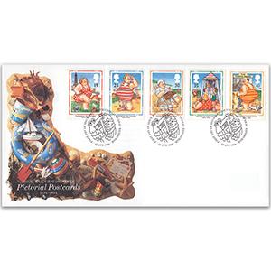 1994 Pictorial Postcards Royal Mail Cover, Bureau, Edinburgh h/s