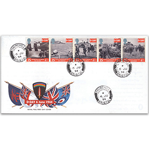 1994 D-Day - Churchill CDS