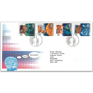 1994 Medical Discoveries Royal Mail FDC - BPB Edinburgh