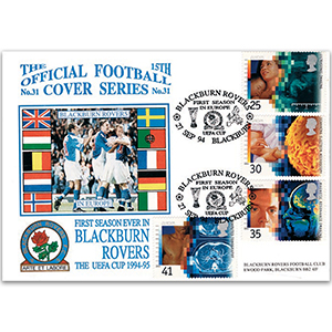1994 Medical Discoveries - Dawn Official - Blackburn Rovers in Europe