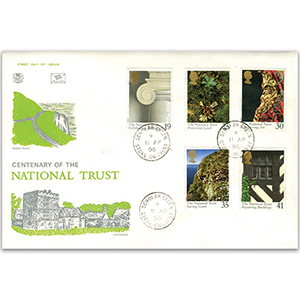 1995 National Trust 100th - Scholar Green CDS