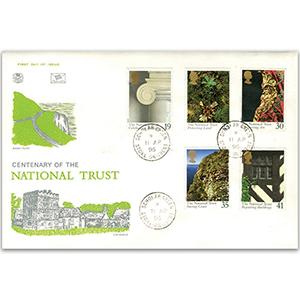 1995 National Trust 100th - Scholar Green CDS