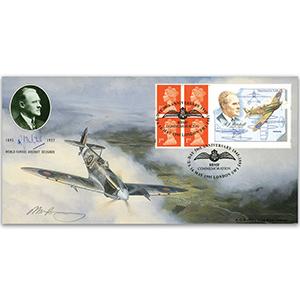 1995 Mitchell bklt Bradbury special, Signed by artist B.B.M.F. h/s