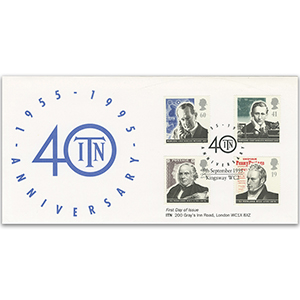 1995 Communications - Arlington Offcial - ITN 40th Anniversary