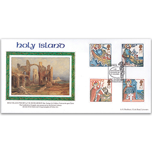 1997 Missions of Faith - St. Columba Holy Island Handstamp