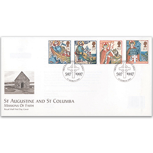 1997 Missions of Faith - Royal Mail FDC - Isle of Iona