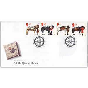 1997 All The Queen's Horses - Royal Mail - Windsor, Berks Handstamp