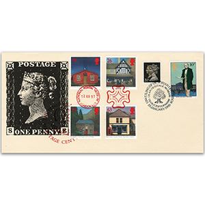 1990 Penny Black 150th - CoverCraft - Doubled Sub Post Offices 1997