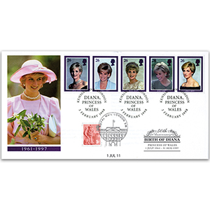 1998 Princess Diana 'In Memoriam' - Doubled 2011