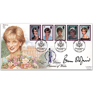 1998 Princess Diana - Signed by Bruce Oldfield