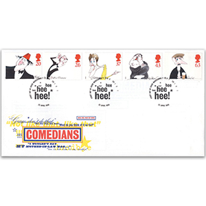 1998 Comedians - Royal Mail Cover - Morecambe