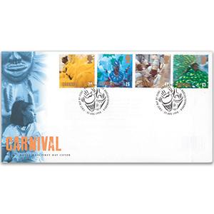 1998 Europa: Carnival Royal Mail FDC - BPB Edinburgh