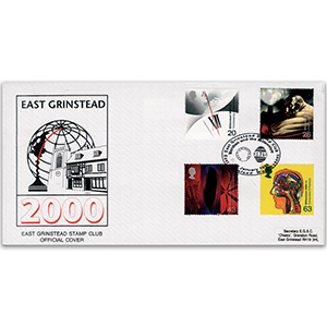 1999 Inventors' Tale - East Grinstead Stamp Club official