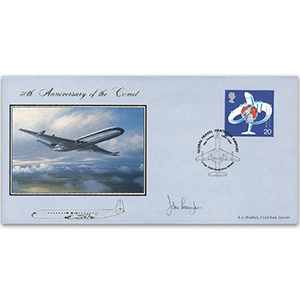 1999 Comet Jet Airliner 50th - Signed by John Cunningham