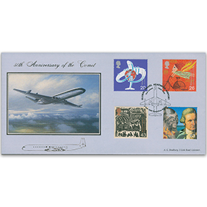1999 Travellers' Tale - Bradbury Official - Heathrow Airport Handstamp