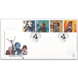 1999 Settlers' Tale Royal Mail FDC - Plymouth