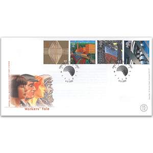 1999 Worker's Tale - Royal Mail Cover - Belfast Handstamp