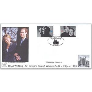 1999 Wedding Havering Cover, Windsor Castle H/S