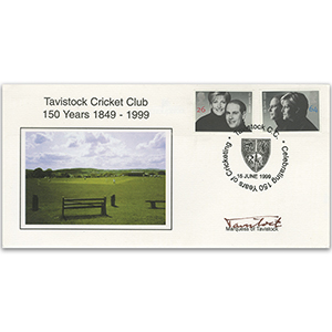 1999 Royal Wedding - Mundy Official - Tavistock Cricket Club - Signed by the Marquess of Tavistock