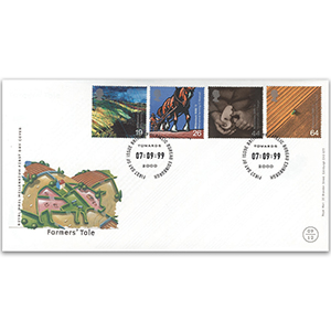 1999 Farmer's Tale R.M. cover, Bureau, Edinburgh h/s