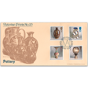 1987 Studio Pottery - Victorian Prints