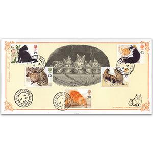 1995 Cats - Victorian Prints