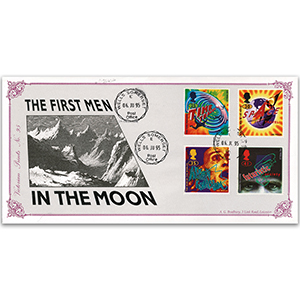 1995 First Men on the Moon - Victorian Prints