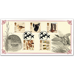 1996 Wildfowl and Wetland Trust 50th Anniversary - Victorian Prints