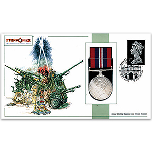 2001 'Firepower' Replica Royal Artillery Medal