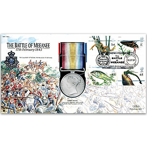 1843 Scinde Medal - The Battle of Meeanee