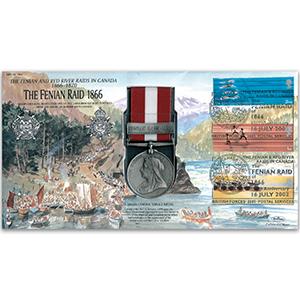 1866 Canada General Service Medal - The Fenian Raid