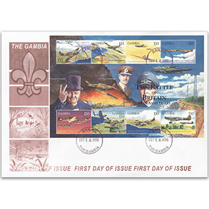 2000 Battle of Britain Anniversary - Gambia First Day Cover