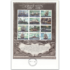 1998 First Day Cover - Great Ships - Grenada