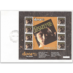 1997 St Vincent - The Doors Album January 1967 Sheetlet