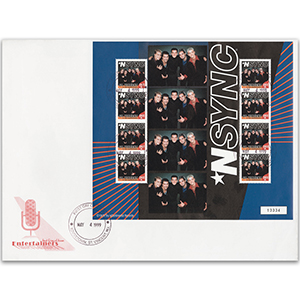 First Day Cover - NSYNC 1999 - Sheetlet - St Vincent