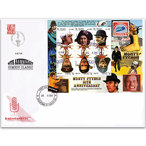 2000 St. Vincent Monty Python 30th Anniversary M/S - Doubled for 40th Anniversary