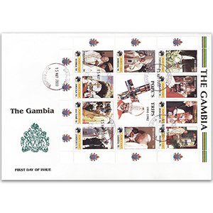 2000 First Day Cover - The Pope's Visits 1993 - Gambia
