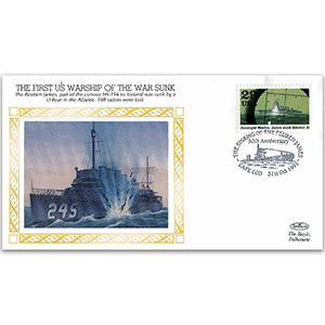 1941 First US Warship Sunk - Cape Cod