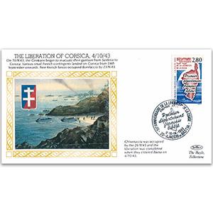 1943 Liberation of Corsica - Bastia